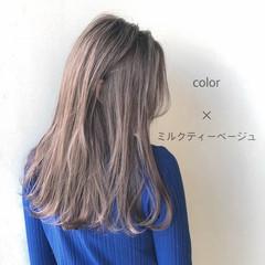 外ハネ ナチュラル デート 透明感 ヘアスタイルや髪型の写真・画像