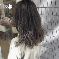 デート 外ハネ かわいい ナチュラル ヘアスタイルや髪型の写真・画像