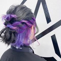 ブリーチカラー モード ブリーチオンカラー ボブ ヘアスタイルや髪型の写真・画像