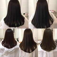ナチュラル トリートメント セミロング 艶髪 ヘアスタイルや髪型の写真・画像