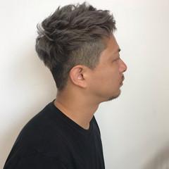 黒髪 アッシュグレージュ グレージュ ショート ヘアスタイルや髪型の写真・画像