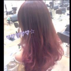 ゆるふわ ガーリー ピンク ストリート ヘアスタイルや髪型の写真・画像