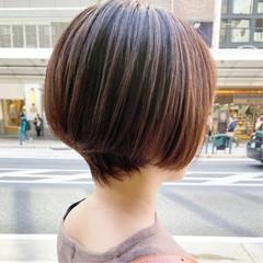 ショートヘア ハンサムショート ショートボブ ショート ヘアスタイルや髪型の写真・画像