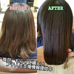 名古屋市守山区 ナチュラル 美髪 髪の病院 ヘアスタイルや髪型の写真・画像