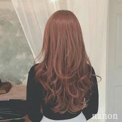 フェミニン 外国人風 デート ロング ヘアスタイルや髪型の写真・画像