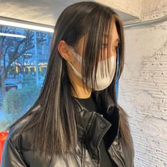 ブロンドカラー インナーカラー ストリート ハイトーンカラー ヘアスタイルや髪型の写真・画像