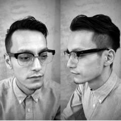 ボーイッシュ ショート 刈り上げ メンズ ヘアスタイルや髪型の写真・画像