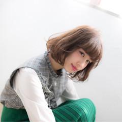 大人かわいい 冬 リラックス 秋 ヘアスタイルや髪型の写真・画像