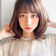 透明感カラー ナチュラル 韓国ヘア インナーカラー ヘアスタイルや髪型の写真・画像