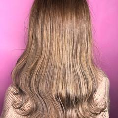 ヌーディーベージュ オルチャン ミルクティーベージュ ハイトーン ヘアスタイルや髪型の写真・画像