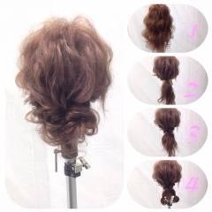 ロング スウィート ヘアアレンジ 大人かわいい ヘアスタイルや髪型の写真・画像