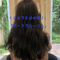 ロング 大人かわいい フェミニン ダークカラー ヘアスタイルや髪型の写真・画像