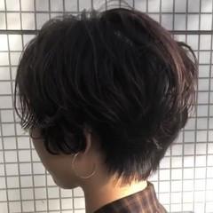 似合わせ かっこいい ショート モード ヘアスタイルや髪型の写真・画像