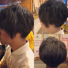 モード ボーイッシュ ショート 刈り上げ ヘアスタイルや髪型の写真・画像