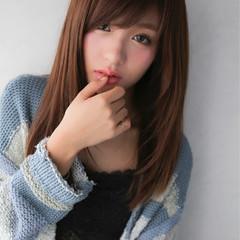 大人かわいい ガーリー フェミニン 黒髪 ヘアスタイルや髪型の写真・画像
