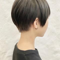 ベリーショート ショートヘア 小顔ショート 地毛風カラー ヘアスタイルや髪型の写真・画像