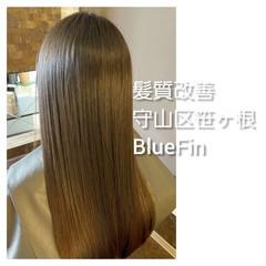 髪の病院 美髪 ロング ナチュラル ヘアスタイルや髪型の写真・画像