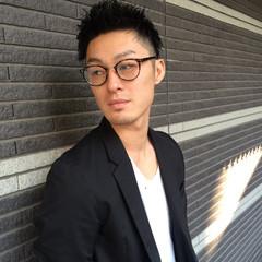 ショート 黒髪 ストリート 坊主 ヘアスタイルや髪型の写真・画像