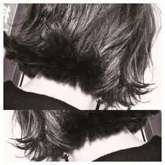 外ハネ ガーリー かわいい ボブ ヘアスタイルや髪型の写真・画像