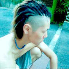 ショート ストリート メンズ コーンロウ ヘアスタイルや髪型の写真・画像
