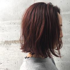 エレガント 外ハネ 上品 ミディアム ヘアスタイルや髪型の写真・画像