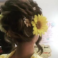 夏 大人女子 上品 結婚式 ヘアスタイルや髪型の写真・画像