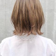 ナチュラル 切りっぱなしボブ ミニボブ 外ハネ ヘアスタイルや髪型の写真・画像