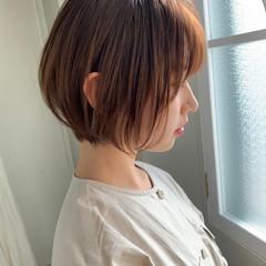 ショートヘア モテボブ ミニボブ まとまるボブ ヘアスタイルや髪型の写真・画像