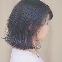 ストリート イルミナカラー ラベンダーアッシュ 切りっぱなし ヘアスタイルや髪型の写真・画像