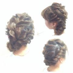 ロング ヘアアレンジ コンサバ ショート ヘアスタイルや髪型の写真・画像