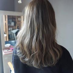 ナチュラル ロング 暗髪 透明感カラー ヘアスタイルや髪型の写真・画像
