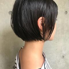 アウトドア ボブ 女子力 透明感 ヘアスタイルや髪型の写真・画像