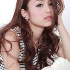 ガーリー モテ髪 外国人風 ロング ヘアスタイルや髪型の写真・画像