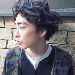 ストリート 黒髪 モテ髪 無造作 ヘアスタイルや髪型の写真・画像