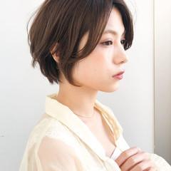 大人可愛い 大人かわいい アンニュイほつれヘア ショート ヘアスタイルや髪型の写真・画像
