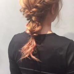 ミディアム パーティ デート ヘアアレンジ ヘアスタイルや髪型の写真・画像