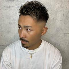 ストリート ショート メンズヘア 刈り上げ ヘアスタイルや髪型の写真・画像