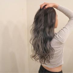 デート エレガント アッシュ 女子会 ヘアスタイルや髪型の写真・画像