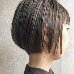 ナチュラル ハンサム ショート ハンサムショート ヘアスタイルや髪型の写真・画像