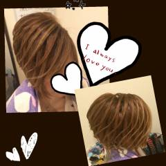 アップスタイル ヘアアレンジ ストリート ヘアスタイルや髪型の写真・画像