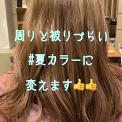 外国人風カラー ラベンダーカラー ダブルカラー ロング ヘアスタイルや髪型の写真・画像
