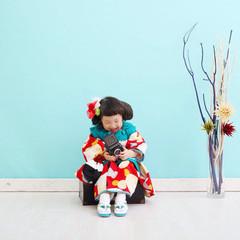 ヘアアレンジ ミディアム 和装 ヘアスタイルや髪型の写真・画像