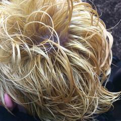 ブリーチ ショート メンズ 個性的 ヘアスタイルや髪型の写真・画像