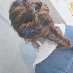 フェミニン ディズニー 結婚式 外国人風 ヘアスタイルや髪型の写真・画像