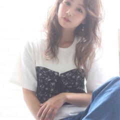 かわいい アンニュイ 寝癖 フェミニン ヘアスタイルや髪型の写真・画像