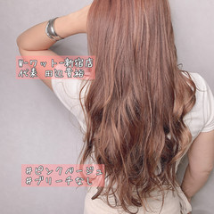 透明感カラー 外国人風カラー ロング 髪質改善トリートメント ヘアスタイルや髪型の写真・画像