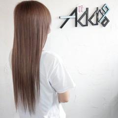 ブリーチ ストリート ロング ブリーチオンカラー ヘアスタイルや髪型の写真・画像