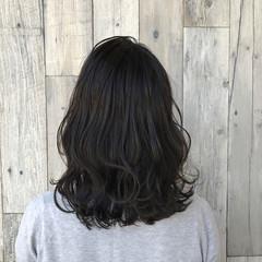 ヘアアレンジ ミディアム アッシュ 外国人風 ヘアスタイルや髪型の写真・画像