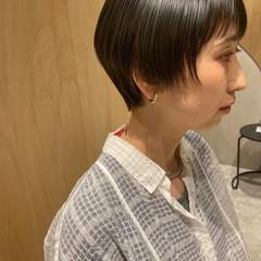ショートボブ ベリーショート ハンサムショート ショート ヘアスタイルや髪型の写真・画像