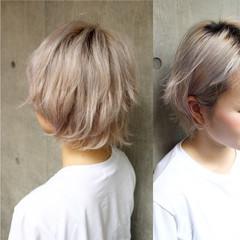 グラデーションカラー モード くせ毛風 パーマ ヘアスタイルや髪型の写真・画像